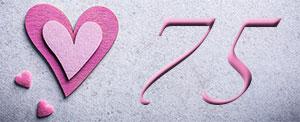75 aniversario de bodas