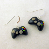 Controller earrings